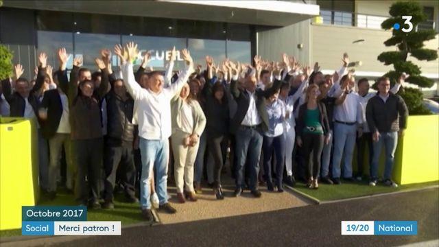 Un patron offre 3 000 euros à ses salariés