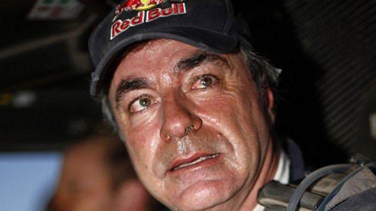 Carlos Sainz au volant de son buggy