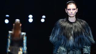 Gucci automne-hiver 2013-14, à Milan  (GABRIEL BOUYS / AFP)