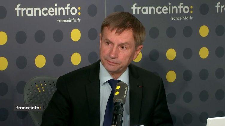 Joaquim Pueyo, député socialiste de l'Orne invité de franceinfo le 12 juin 2019 (FRANCEINFO)