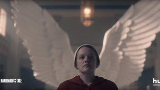 """Capture d'écran. Image de la bande annonce de la saison 3 de """"La servante écarlate"""", qui sortira le 5 juin 2019 aux Etats-Unis. (Hulu)"""
