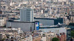 La Maison de la Radio, à Paris (8 mai 2020) (BENJAMIN GIRETTE / HANS LUCAS / AFP)