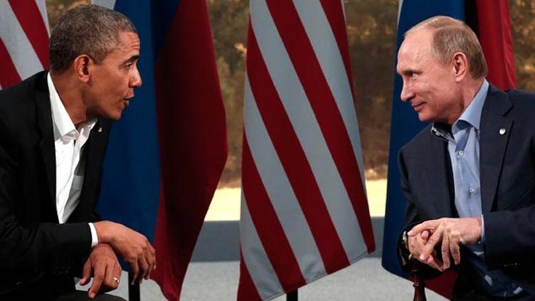 (Barack Obama et Vladimir Poutine - ici en juin 2013 - vont unir leurs efforts en Syrie © REUTERS / Kevin Lamarque)