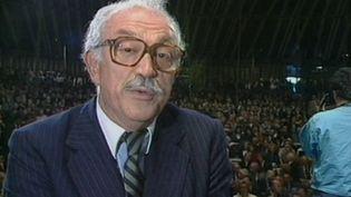 Jacques Médecin est devenu maire de Nice (Alpes-Maritimes) en 1966. Il a succédé à son père. (France 3)