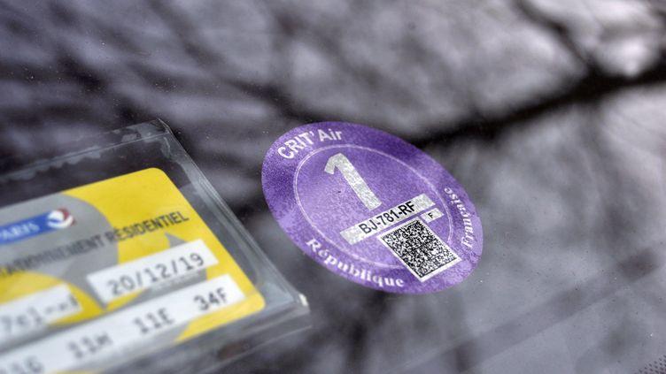 La circulation différenciée interdit les véhicules les plus polluants. (SERGE ATTAL / ONLY FRANCE)
