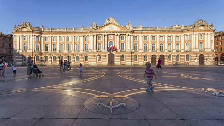 La place du capitole à Toulouse (Haute-Garonne). ( HEMIS.FR / AFP )