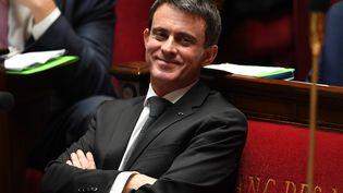 Manuel Valls, Premier ministre à l'Assemblée nationale à Paris le 26 octobre 2016. (ERIC FEFERBERG / AFP)