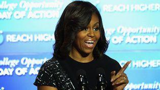 Michelle Obama en décembre 2014 à Washington  (ALEX WONG / GETTY IMAGES NORTH AMERICA / AFP)