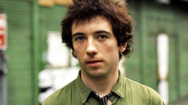 Pete Shelley, chanteur des Buzzcocks, à Londres en octobre 1977  (Andre Csillag / REX / Shutterstock / SIPA)