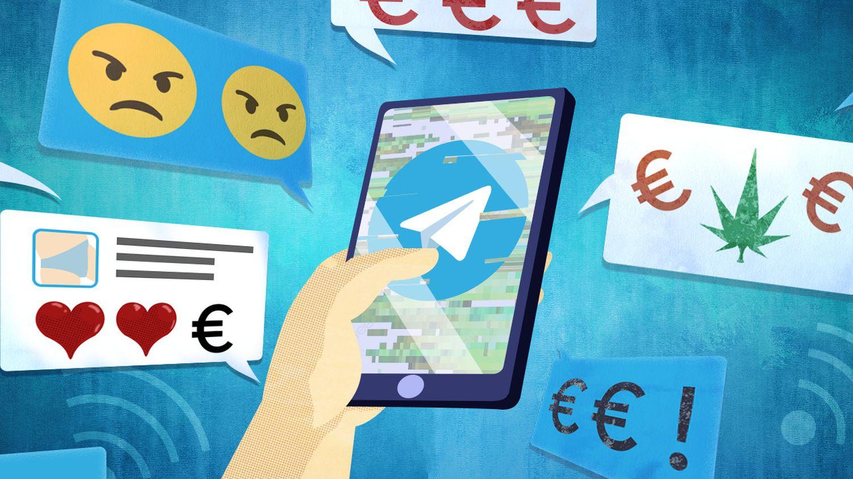 Telegram : sexe, drogue et cartes bancaires prépayées… Sur la messagerie sécurisée, les arnaques sont à portée - franceinfo