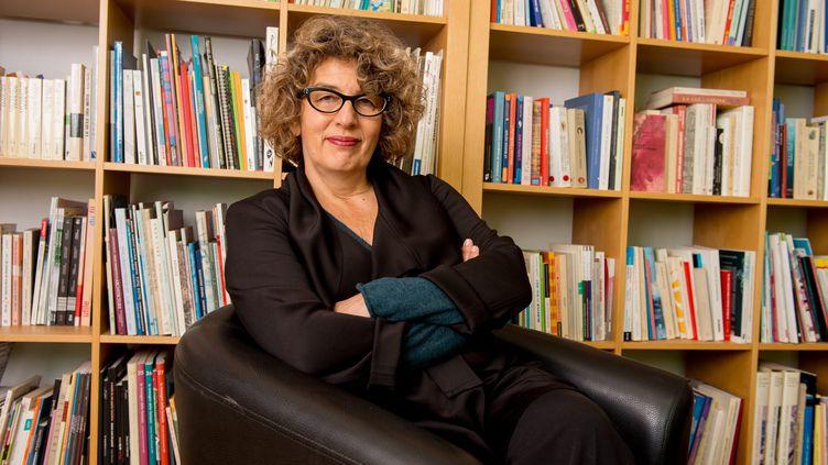 (Sylvie Vassalo, la directrice du salon du livre et presse jeunesse de Montreuil © MaxPPP)
