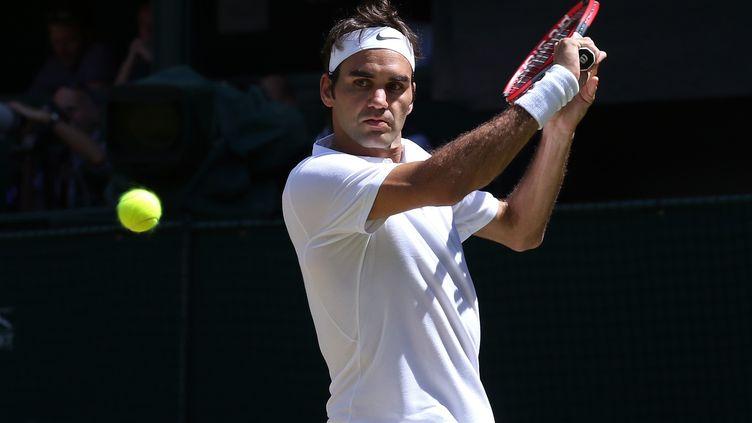La pureté technique de Roger Federer (LINDSEY PARNABY / ANADOLU AGENCY)