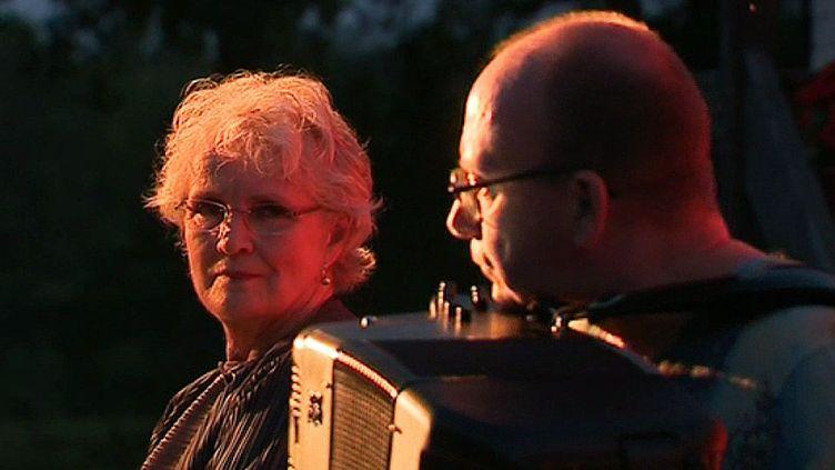 Marie Christine Barrault et Pascal Contet - mercredi 2 août à la ferme du Sougay à Montrevel  (France 3 / culturebox / capture d'écran)