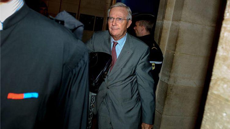 (Denis Gautier-Sauvagnac, au tribunal de grande instance de Paris © Maxppp)