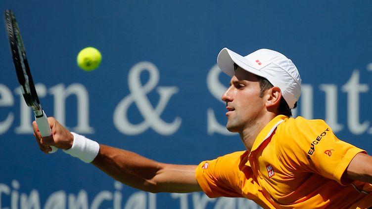 Novak Djokovic s'est hissé pour la 5e fois de sa carrière en finale à Cincinnati (ROB CARR / GETTY IMAGES NORTH AMERICA)