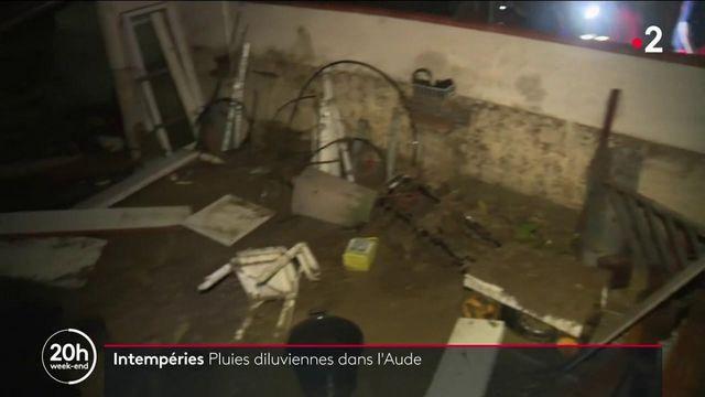 Intempéries dans l'Aude : des pluies diluviennes et des inondations font des dégâts