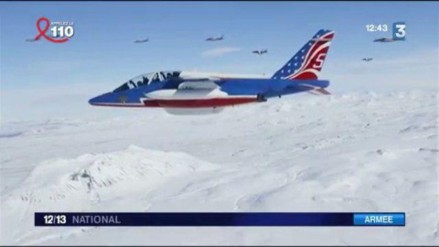 Patrouille de France : l'hommage aux États-Unis