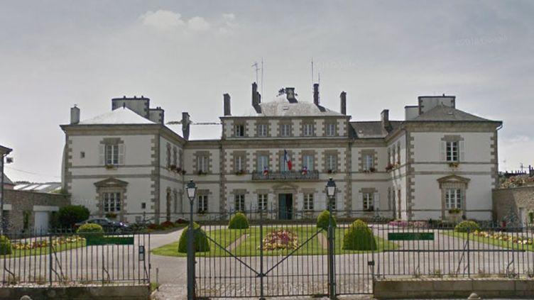 L'hôtel de ville de Pontivy (Morbihan). (CAPTURE D'ÉCRAN GOOGLE MAPS)