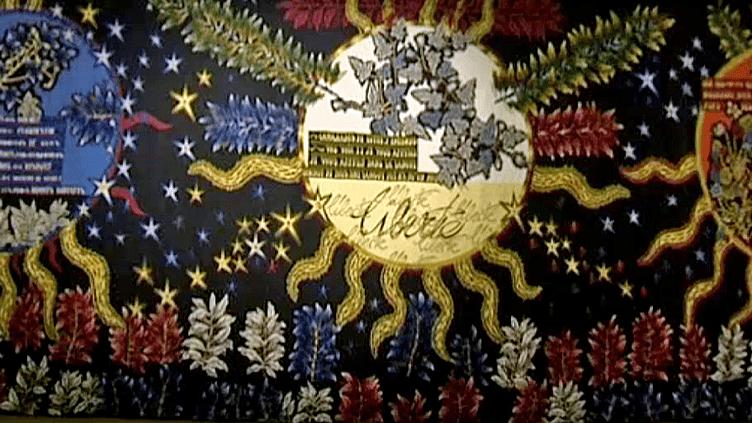 """""""Au seul buit du soleil"""" une rétrospective exceptionnelle Jean Lurçat à la Galerie des Gobelins  (France 3 / Culturebox / capture d'écran)"""