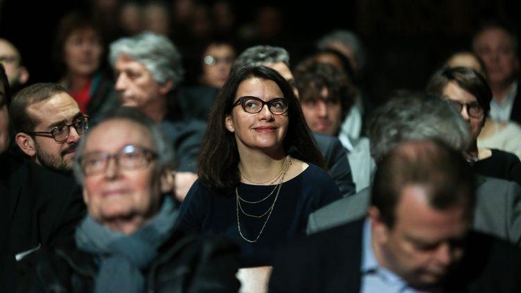 L'ancienne ministre Cécile Duflot, aujourd'hui directrice générale d'Oxfam France,le 31janvier 2020, à Paris. (MICHEL STOUPAK / NURPHOTO / AFP)