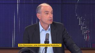 Jean-François Copé, le 27 septembre 2021. (FRANCEINFO / RADIOFRANCE)