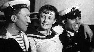 """Détail de """"Conchita et les marins""""  (Brassaï)"""