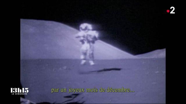"""VIDEO. Apollo 17 : """"Je pose le dernier pas de l'homme sur la Lune"""", déclarait l'astronaute Eugene Cernan en 1972"""