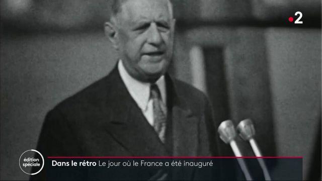 Dans le rétro : le jour où le France a été inauguré
