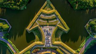 La ligne de défense d'Amsterdam (Pays-Bas) a été inscriteau patrimoine mondial de l'Unesco, le 26 juillet 2021. (MAXPPP)