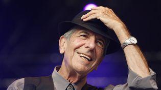 Leonard Cohen en juillet 2008  (ROLF HAID / DPA)