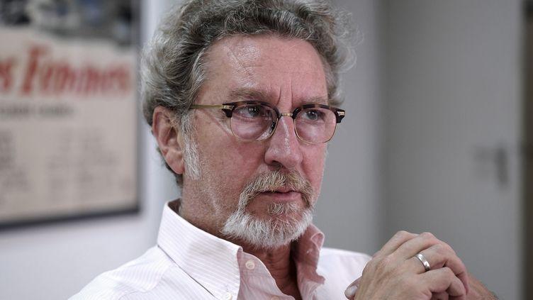 Le réalisateur Robert Guédiguian à Toulouse, en juillet 2016. (ERIC CABANIS / AFP)