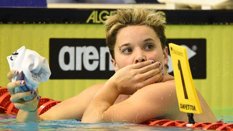 La nageuse française Mélanie Hénique