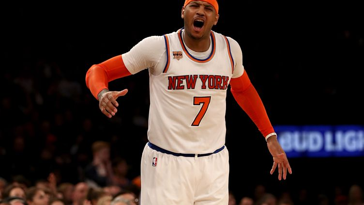 Carmelo Anthony (New York Knicks) (ELSA / GETTY IMAGES NORTH AMERICA)