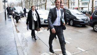 Le ministre de la Transition énergétique, Nicolas Hulot, à Paris, le 1er février 2018. (MAXPPP)