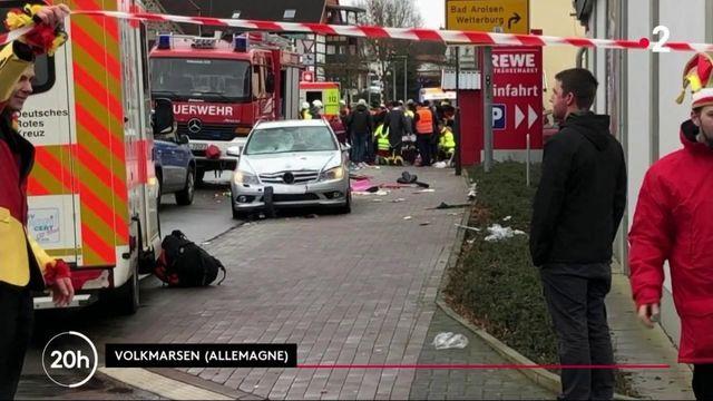 Allemagne : une voiture fonce dans la foule