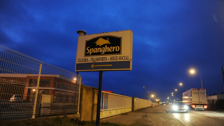Les locaux de Spanghero, le 19 février 2013, à Castelnaudary (Aude). (ERIC CABANIS / AFP)