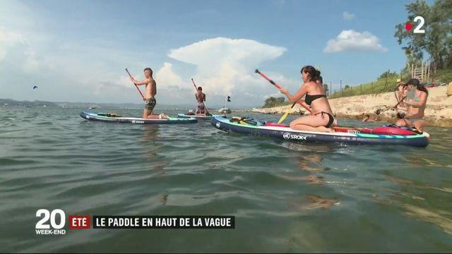 Loisir d'été : le paddle séduit de plus en plus les Français
