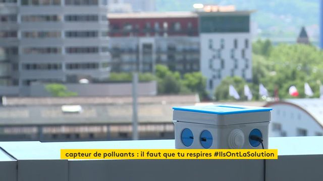 Installation de capteurs de polluants chez des particuliers à Rouen