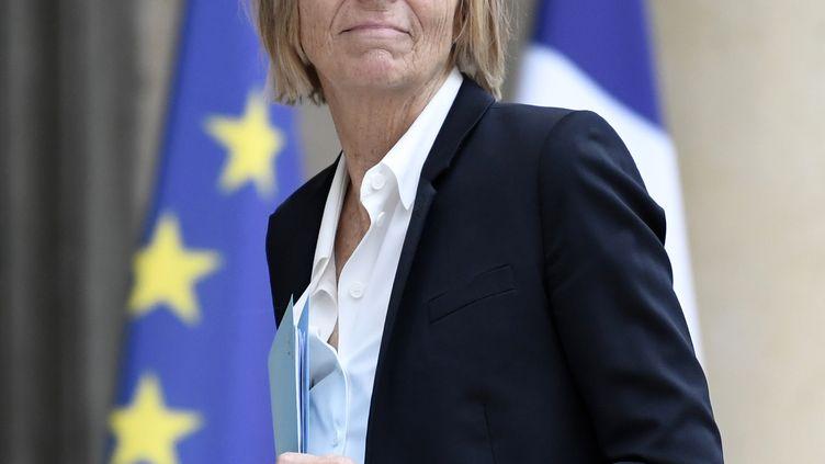 Marielle de Sarnez, ministre des Affaires européennes, à Paris, le 24 mai 2017. (STEPHANE DE SAKUTIN / AFP)