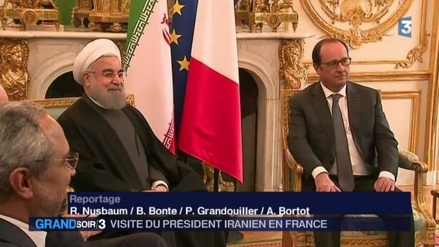 Visite du président iranien en France : 118 Airbus commandés