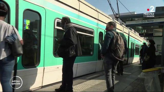 Coronavirus : les transports publics bondés