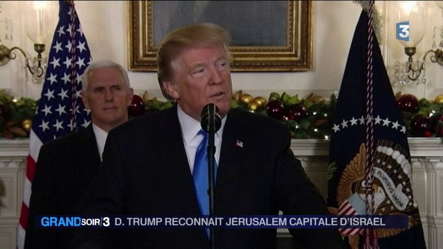 États-Unis : Donald Trump reconnaît Jérusalem comme capitale d'Israël
