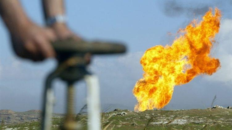 Un champ pétrolier dans le nord de l'Irak, près de la ville de Kirkuk (AFP - Karim SAHIB)
