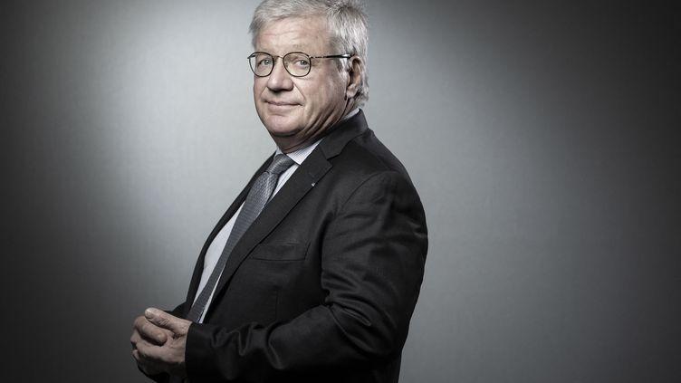 Jacques Glénat, le fondateur des éditions Glénat, le 10 janvier 2019 à Paris (France). (JOEL SAGET / AFP)