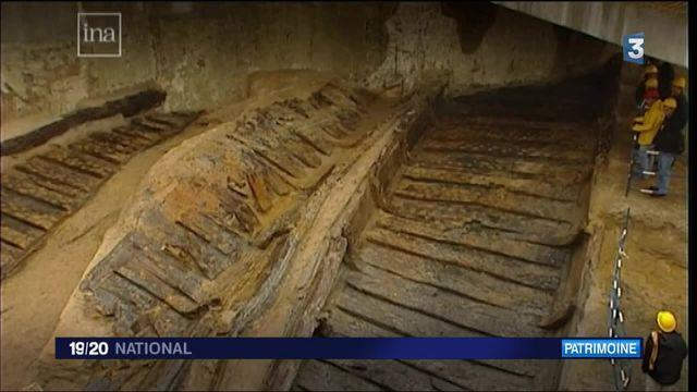Une barque vieille de 2000 ans reconstituée à Lyon