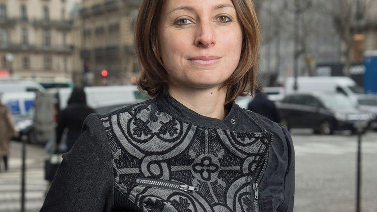 Camille Chaize, porte-parole du ministère de l'Intérieur, le 13 janvier 2020. (PIERRE CHABAUD / MINISTERE DE L'INTERIEUR)