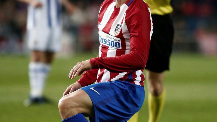L'attaquant de l'Atletico Madrid, Fernando Torres (BURAK AKBULUT / ANADOLU AGENCY)