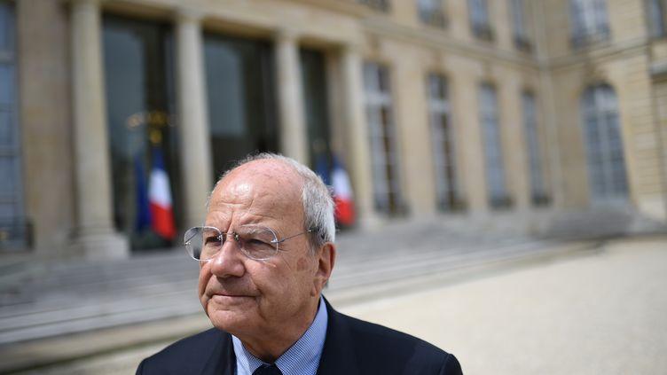 Marc Ladreit de la Charriere à l'Elysée, le 10 juin 2016. (STEPHANE DE SAKUTIN / AFP)