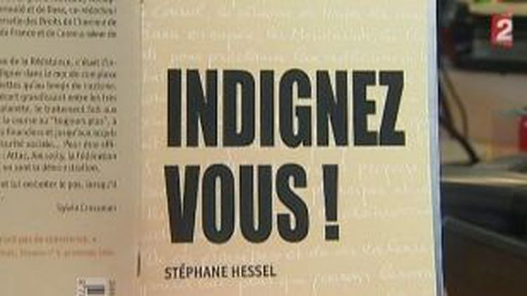 """""""Indignez-vous !"""" de Stéphane Hessel, le succès inattendu d'Indigène Editions  (Culturebox)"""
