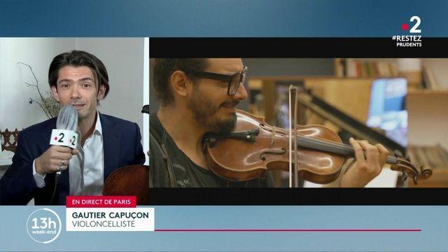 Musique: le musicien Gautier Capuçon lance un appel pour des concerts partout en France
